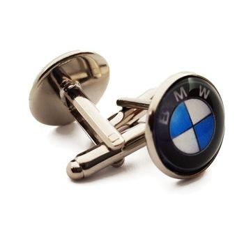 Spinki do Mankietów BMW Prezent na Dzień Chłopaka