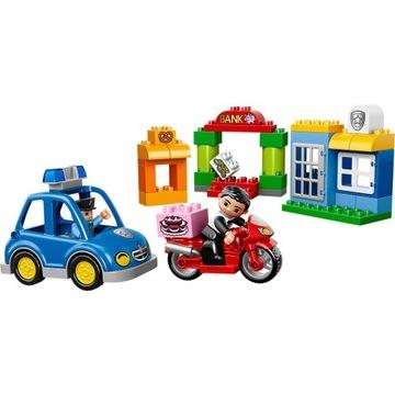 -= LEGO DUPLO 10532 - POLICJA POSTERUNEK =-