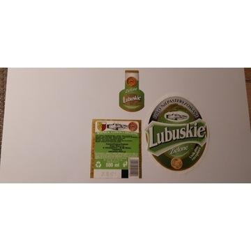 Etykieta Lubuskie Zielone 2013 rok