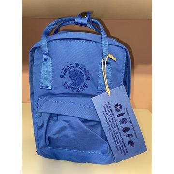 Plecak FJALLRAVEN KANKEN mini-niebieski.