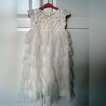 Sukienka NEXT roz. 68/74 + Butki i rajstopki