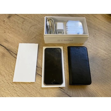 Apple iPhone 5s 16GB Czarny Black stan b. dobry