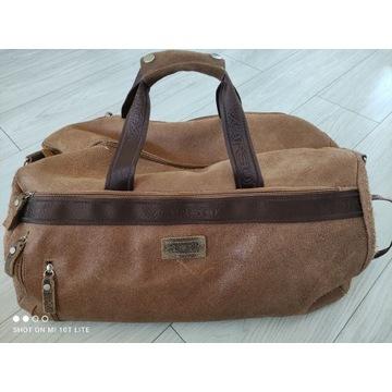 Skórzana torba podróżna firmy Verso