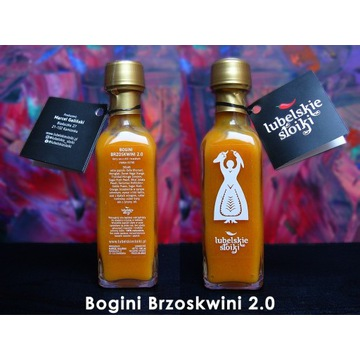 """Bogini Brzoskwini 2.0"" - ostry sos chili"