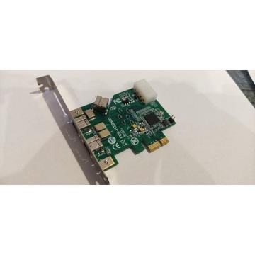 Delock PCI Express Card > FireWire B 2+1 Port 800