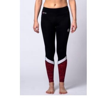Pitbull legginsy sportowe spodnie getry