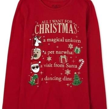 Childrens Place bluzeczka Christmas List 10-12lat