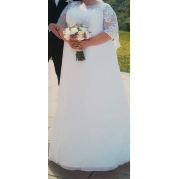 Suknia ślubna r.ok 50