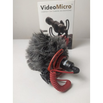 RODE VIDEOMICRO Mikrofon aparat smartfon kamera