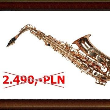 Nowy saksofon altowy CLASSIC złoty M305