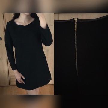 czarne ciuchy paczka czarny czarna bluzka spodnica