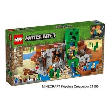 NOWY Lego Minecraft Kopalnia Creeperów 21155