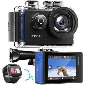 Akaso 6 Brave Plus Kamera sportowa gopro 4K 30kl/s