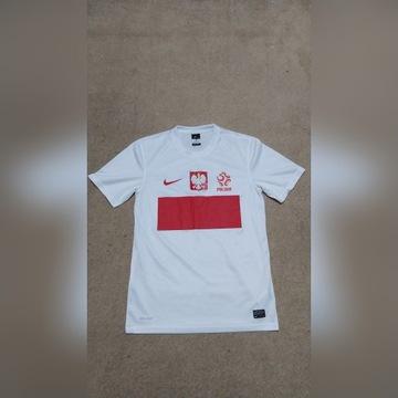 Koszulka reprezentacji Polski Nike r. S, jak nowa