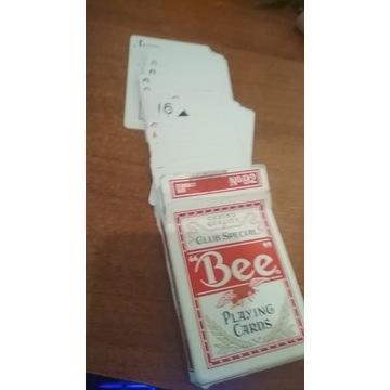 Bee playing cards – Karty do gry; rozmiar-pokerowy