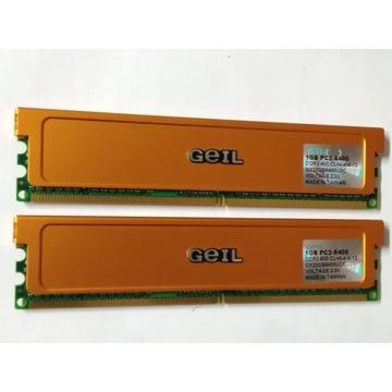 DDR2-800 DUAL 2x1GB GEIL ULTRA PAROWANE!