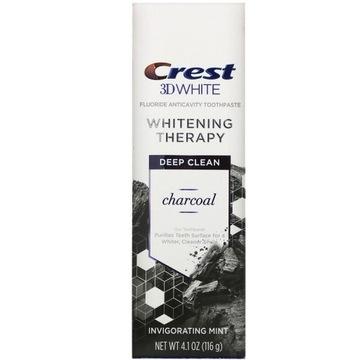 PASTA DO ZĘBÓW CREST 3D WHITE CHARCOAL 116g