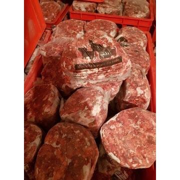 Mięso mrożone dla psa z wołowiną 1kg