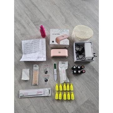 SEMILAC zestaw do HYBRYD manicure 25-częsciowy
