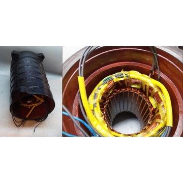 Stojan pompy MS 7,5 kW Metal-Chem, przezwojenie