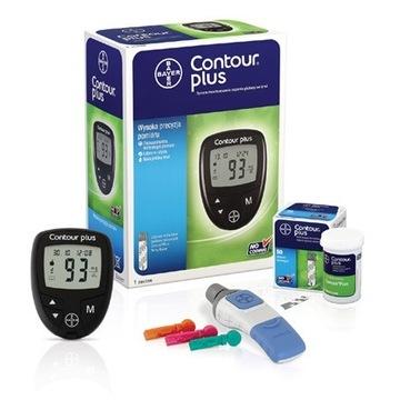 glukometr contour plus nowy 50 pasków gratis