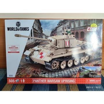 COBI czołg Panther Warsaw  3035 UNIKAT NOWY