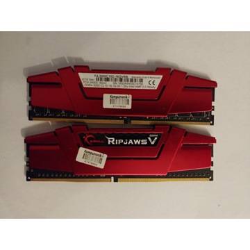 G.Skill RipjawsV 3000 16GB CL15 F4-3000C15D-16GVRB