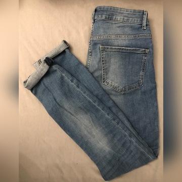 Spodnie jeansy rurki Lindex