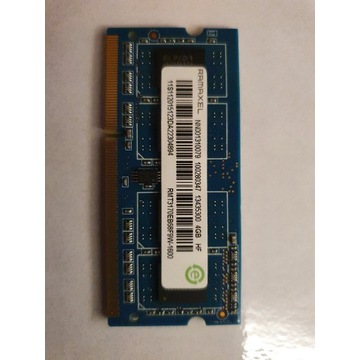 Pamięć RAM DDR3L-1600MHz 4GB SODIMM