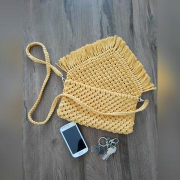 Ręcznie robiona torebka