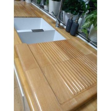 Ociekacz drewniany na naczynia - rękodzieło