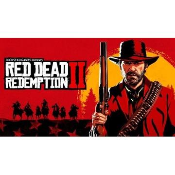 RED DEAD REDEMPTION 2 PC KEY+2 GRY Z MOICH AUKCJI