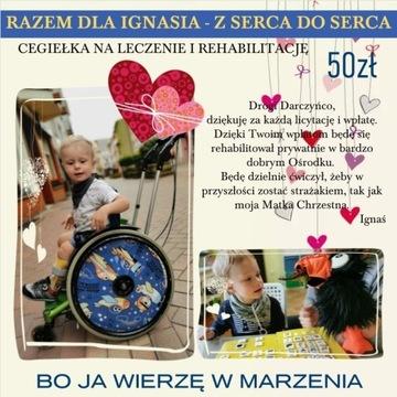Cegiełka z serca do serca Wspieramy Ignasia! Ratuj