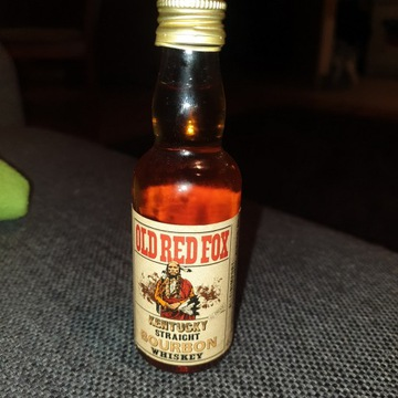 Miniaturka alkoholu - Whiskey Old Red Fox