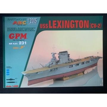 GPM USS Lexington  - skala 1:200