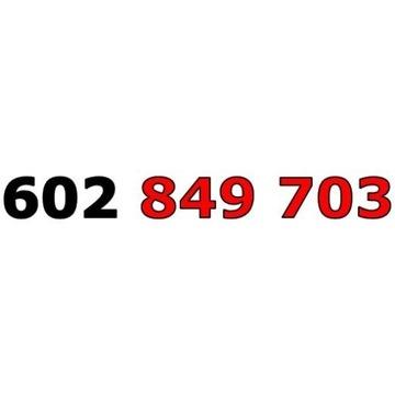 602 849 703 T-MOBILE ZŁOTY ŁATWY NUMER STARTER