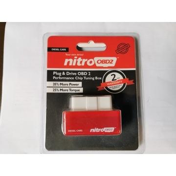 Nitro OBD2 Chip Tuning diesel zwiększa moc