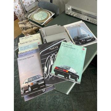 Oryginalne prospekty niemieckich aut