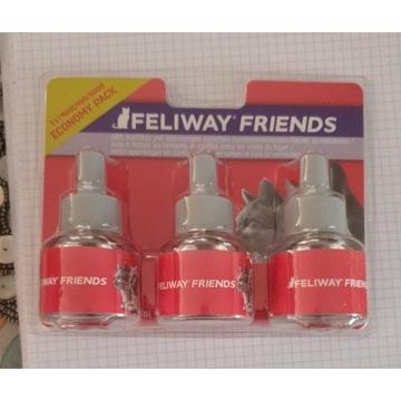 Feliway Friends Fermony  Dla Kotow wklady 3 pak