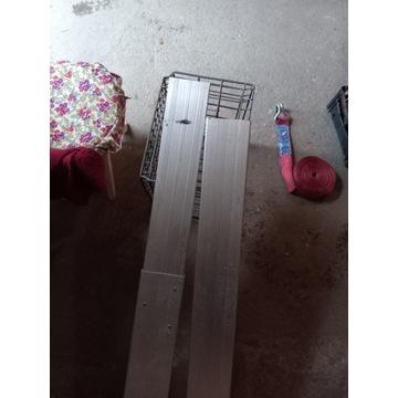 BELKA NABURTOWA Regulowana rozporowa aluminium