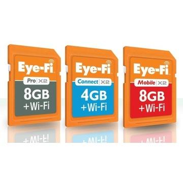 Usługa reaktywacji kart Eye-fi X2