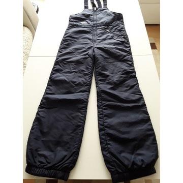 Spodnie ocieplane na śnieg 150 cm