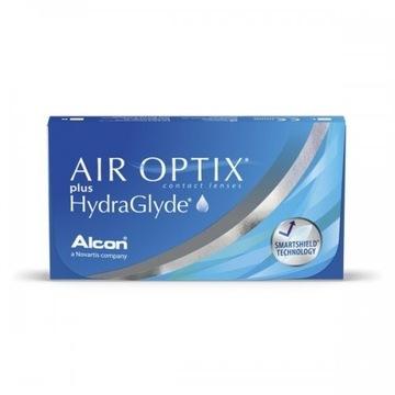 Soczewki miesięczne, -4,25, Air Optix plus HydraGL