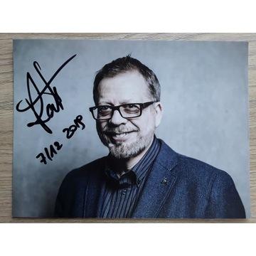 TOMASZ RACZEK autograf, duże zdjęcie 15x21