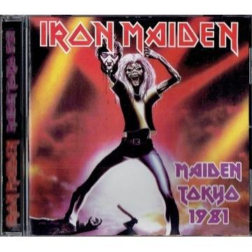 CD  IRON MAIDEN - Maiden Tokyo 1981