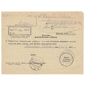 Jaszkowo Górne (k.Kłodzka) ze st. prow. z 1946 r.