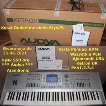 KETRON AUDYA 76 Gwarancja Dysk SSD Ajamsonic Okaz