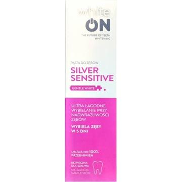 White On silver sensitive pasta do zębów -50%