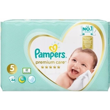 Pampers premium care nr 5 (11-16 kg )  44 szt