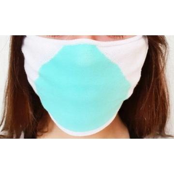 maska maseczka do wielokrotnego użytku